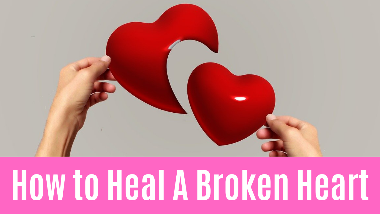 Heartbreak is a pain like any other. It is an emotional pain so bottomless that it can feel like a physical blow. When you have a pain like this one, all you want is for the deep ache to go away.